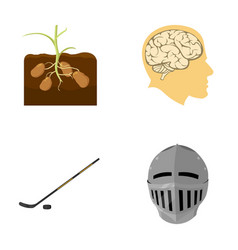 Sport nature history and other web icon in vector
