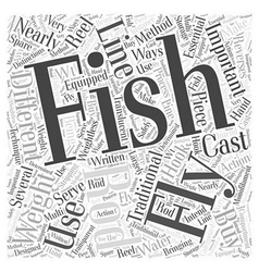 Which fly fishing rod should you buy word cloud vector