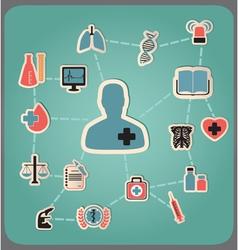 Concept of medicine vector image