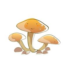icon mushroom vector image