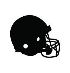Football helmet vector