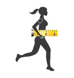 Athletic training design vector