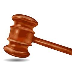 Judge hammer vector