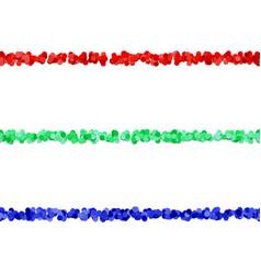 Seamless dot pattern text separator line design vector