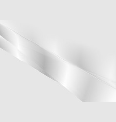 Grey silver stripes abstract gradient background vector