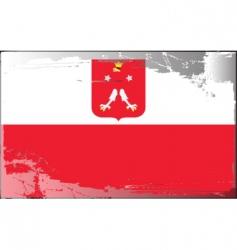 Poland national flag vector image