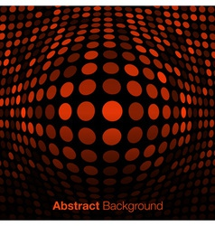 Abstract orange technology background vector