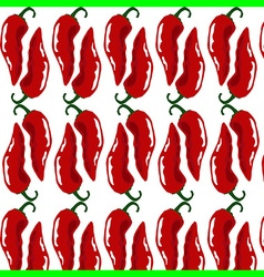 Hot chili pattern vector