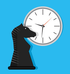 time strategy vector image vector image
