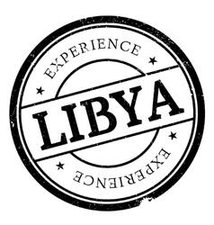 Libya stamp rubber grunge vector