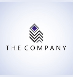 Building logo ideas design background vector