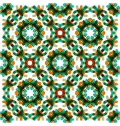 Seamless geometric abstract pattern vector