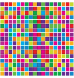 Abstract background with squares vector image vector image