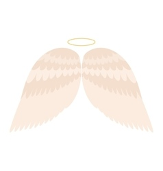 Wings isolated vector image vector image
