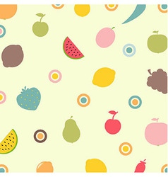 Fruits and vegetables abstract background vector
