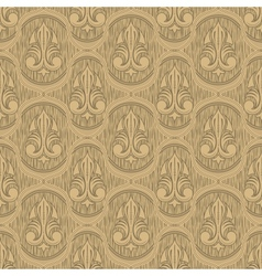 beige colour old style seamless background vector image