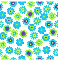 bright floral vector image