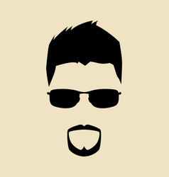 cool guy vector image vector image