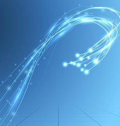 Energy stream speed bandwidth fiber optics vector