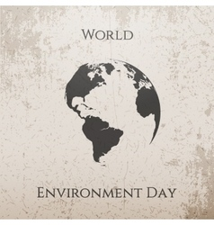 World Environment Day Ecology Background vector image vector image