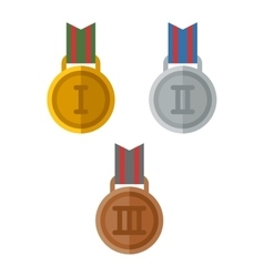Medal first place vector