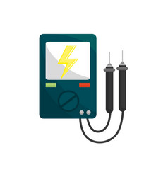 Energy logger to meter electricity in the planet vector