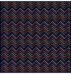 Repeating abstract zigzag eometric background vector