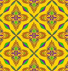 Bright indian seamless pattern vector