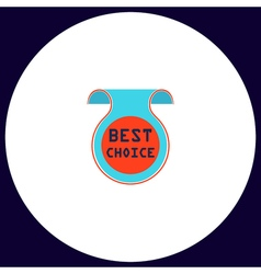 Best choice computer symbol vector