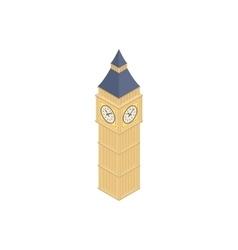 Big Ben in Westminster London icon vector image vector image