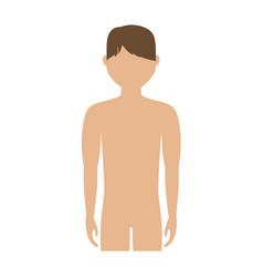 Body of man icon vector