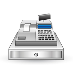 cash register vector image vector image