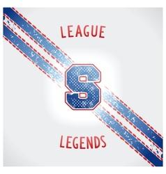 Sporting vintage design vector image vector image