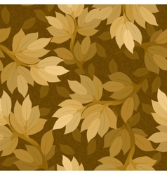 branch with leaves seamless vector image