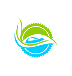 eco laudry dry cleaner vector image