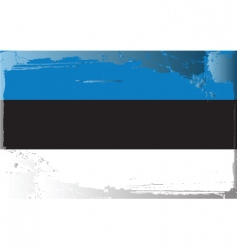 Estonia national flag vector image vector image
