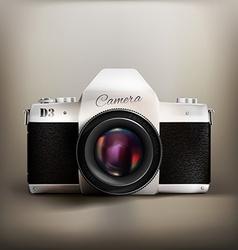 Old school camera vector