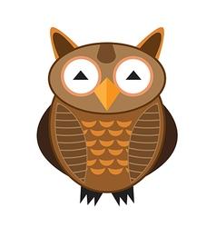 owl 1 vector image