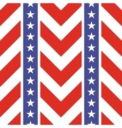 Patriotic USA seamless pattern vector image vector image