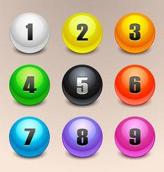 balls vector image