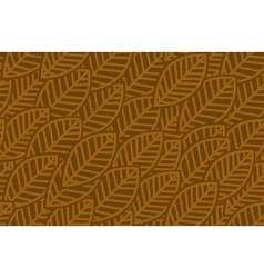 Leaves background pattern - vector image