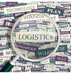 Logistics vector