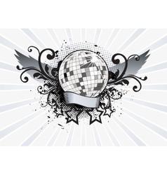 Disco Pathy vector image