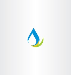 fresh water icon logo sign vector image vector image
