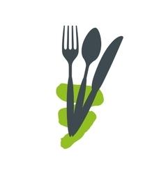 Logo with the inscription very tasty vector