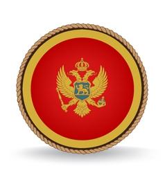 Montenegro seal vector