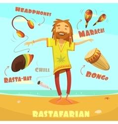 Rastafarian character vector