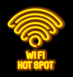 wireless network symbol concept vector image vector image