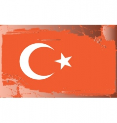 Turkey national flag vector