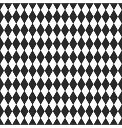 Background with black and white rhombus vector